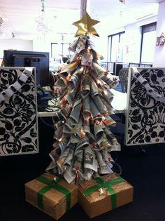 Unique Christmas Tree 010 | Recycle art! | Pinterest | Alberi ...