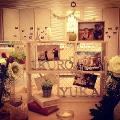 Willkommensgremium Source by fukakondou Wedding Props, Diy Wedding, Wedding Decorations, Welcome Boards, Guest Book Table, Reception Party, Space Wedding, Get The Party Started, Ceremony Backdrop