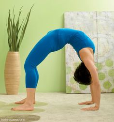 Urdhva Dhanurasana (Upward Bow or Wheel Pose) Get your best backbend yet: www.yogajournal.com/practice/2733