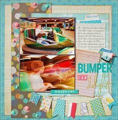 Colorful Delight | Scraptastic Club by DT @Madeline Fox