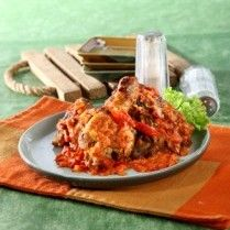 AYAM BAKAR SAMBAL TOMAT http://www.sajiansedap.com/mobile/detail/16683/ayam-bakar-sambal-tomat