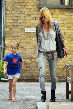 Kate Moss , fashion outfit 4 mommys  I want pretty: LOOK- Mamá Fashion !