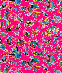 Shop  Orange Aztec Oilcloth Fabric at onlinefabricstore.net for $6.1/ Yard. Best Price & Service.