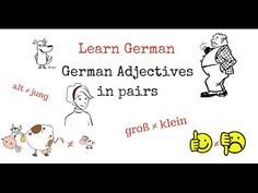 Learn German Adjectives with opposites: Part 1