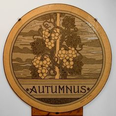 Eugene Grasset's work (1845-1917) - FALL - Museum of Briare (France) - AUTOMNE - musée de Briare ( France) Seasons Of The Year, Art Nouveau, Vintage World Maps, France, Photography, Fall Season, Photograph, Fotografie, Photoshoot