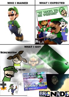 What I Expected Super Smash Bros. Super Mario Bros, Super Smash Bros 3ds, Super Smash Bros Memes, Nintendo Characters, Video Game Characters, Gamer Humor, Gaming Memes, Video Game Memes, Video Games
