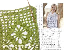How to crochet A.X in DROPS 162-17 (Tutorial Video)