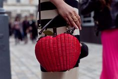 an apple a day, while at london fashion week