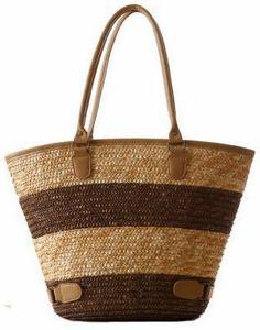 3fa7129cd1 2015 Fashion Nice Straw Handbags New Women Style Straw Summer Beach Tote  Big Shoulder Bag Purse Handbag Straw Beach Bag