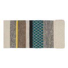 Tapis Rectangulaire de la gamme Mangas Original pou Gan-rugs. 100% laine. Décoration et mobilier design à Paris.