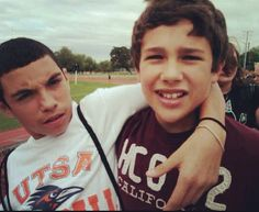 Lol 8th grade Robert and Austin