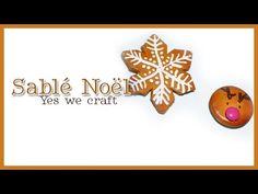 Tutoriel YWC#10 calendrier de l'avent: Sablé de Noël - YouTube