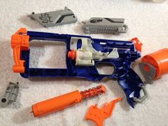 This is our in-depth Mod Guide for the NERF Elite Strongarm. In this