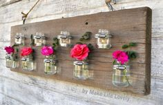 As green as it gets! Turning your old baby food jars into beautiful mini plant holders!