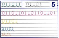 Recursos para el aula: Trazos para educación infantil Diferentes ejercicios para Grafomotricidad en color para educación infantil