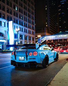 I'm Godzilla 💙 Blue Monster 📷 Liberty Walk GTR Rick Stephenson Nissan 🏎️🏎️🏎. Nissan Gtr Nismo, Nissan Gt R, Nissan Skyline Gt R, Nissan Gtr Black, Gtr R34, New Sports Cars, Sport Cars, Godzilla, Bmw F 800 R