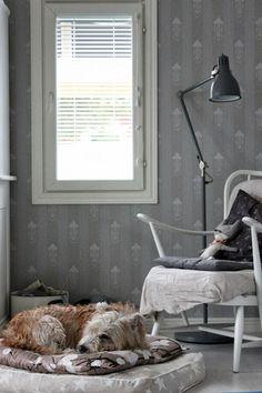 Classic pattern finnish wallpaper / Paperitapetti kuvio Wiener-Jugend kaunis kuin mikä http://www.domusclassica.com/tuotteet/pintak%C3%A4sittely/tapetit/315/  Kuva: K i r s i k k a p u u