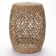 SONOMA life + style Rope End Table () ($90) ❤ liked on Polyvore featuring home, furniture, tables, accent tables, nautical side table, handmade furniture, hand made furniture, handcrafted furniture and handmade tables