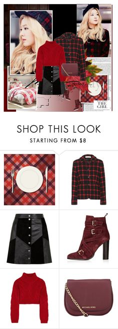 """Tartan.Suede.Patchwork"" by rainie-minnie ❤ liked on Polyvore featuring Kershaw, Marni, Topshop, Vivienne Westwood Anglomania and MICHAEL Michael Kors"