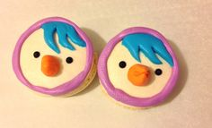 My Pororo Macaroons - Petty (cute macaron) Cakes And More, Macaroons, Bento, Good Food, Candy, Cookies, Facebook, Chocolate, Cute
