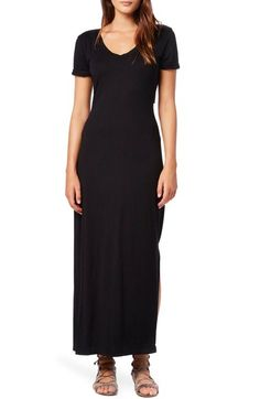 Michael Stars Cutout Twist Short Sleeve Maxi Dress available at #Nordstrom