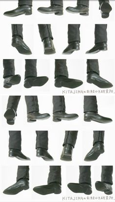 Feet + Shoes references Source by sofaschwerdt reference Human Poses Reference, Pose Reference Photo, Figure Reference, Body Reference, Anatomy Reference, Anatomy Poses, Poses References, Office Shoes, Anime Poses