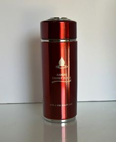 Alkaline Energy Flask Ionizer Water Bottle Ion pH Booster Cup W Case Silver Pink Blue Black Red Red * Find out more about the great product at the image link.(This is an Amazon affiliate link and I receive a commission for the sales)