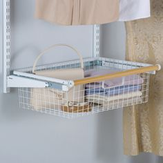 Rubbermaid Homefree Series Wire Sliding Basket | Organization: Pantry |  Pinterest | Pantry, Pantry Ideas And Clutter