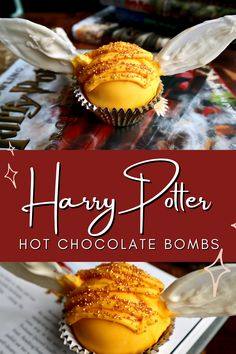 Harry Potter Sweets, Harry Potter Candy, Hot Chocolate Gifts, Hot Chocolate Mix, Bakery Business Plan, Delicious Recipes, Yummy Food, Sweets Recipes, Desserts