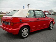 Golf 1 Cabriolet, Vw Golf Cabrio, Volkswagen Models, Volkswagen Golf, City Car, Mk1, Classic Cars, Retro, Vehicles