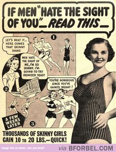 What The Ideal Body Image Was Like In The Past… How Times Have Changed.