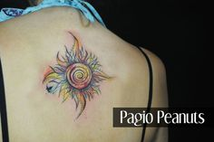 watercolor tattoo sun - Google Search