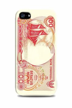 Seratus Rupiah iPhone case by TOKO SINAR HARAPAN. Seratus rupiah money print on the case that made from polymer thermoplastic, flexible enough and it wont scratch your phone. Available for samsung galaxy grand, samsung galaxy note 2, 3, samsung alaxy s3,s4, redmi xiaomi, iPhone 4,4s,5,5s and 5c. http://www.zocko.com/z/JFR3G