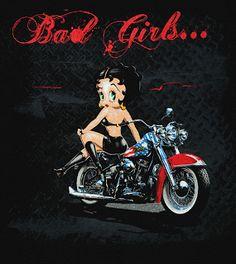 biker betty boop |