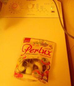Pranie z #Perlux #NajskuteczniejszePerły to czysta przyjemność