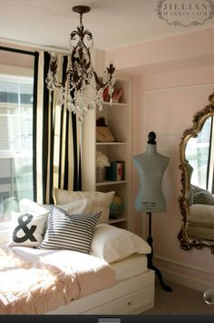 If I lived alone  i would love this girly room