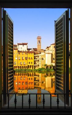 Oltrarno from a window (Florence)
