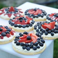 4th fruit pizzas