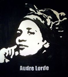 "Audre Lorde, a Caribbean-American writer and activist, and self-proclaimed ""black lesbian feminist mother warrior poet. Wine Gift Boxes, Wine Gift Baskets, Audrey Lorde, Zine, Audre Lorde Quotes, Black Lesbians, Book Of Poems, Dreams And Visions, Wine Bottle Holders"