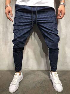 Monocloth Streetwear men's ankle pants, men's casual wear pants, high quality men's pants, European Trouser Pants, Ankle Pants, Navy Pants, Denim Joggers, Men Pants, Denim Shorts, Jogger Sweatpants, Men Street, Street Wear