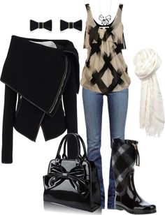 """""""Rain Bow"""" by kswirsding on Polyvore"""