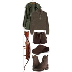 Tauriel by ithiliel on Polyvore featuring polyvore fashion style The Row BCBGMAXAZRIA Frye