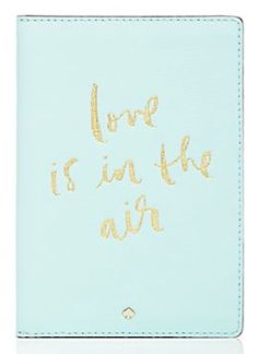 Love is in the air passport holder