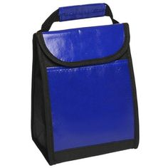 """Laminated Non-Woven Lunch Bags with Front Pocket, Blue by BAGS FOR LESSTM by Bags For Less. $8.49. Blue. Instulated Inside, Foil Laminated PE Foam Insulation. Made of 80 GSM Laminated Non-Woven Polypropylene + Coated Water Resistant Polypropylene. 7"""" W x 9.5"""" H x 4"""" D. Velcro closure, Laminated Web Carrying Handle, Front Pocket. BAGS FOR LESSTM  These Lunch Bags have come a long way from the old square lunch boxes. Oozing with high-quality features, this bag is perfect for ..."""