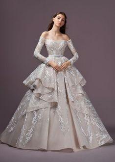 Свадебные платья Saiid Kobeisy осень-зима 2018-2019