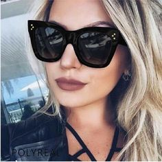 1e8a9225b38 brand sun glasses Picture - More Detailed Picture about POLYREAL 2017 New  Fashion Square Sunglasses Women Brand Designer Summer Style Sun Glasses for  Ladies ...