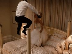 Expectations Vs. Reality of Newlywed Life (in GIFs)   Photo by: GIPHY   TheKnot.com