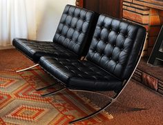 Our Mid Century: Our Barcelona Chairs