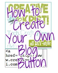 How to create your own blog button