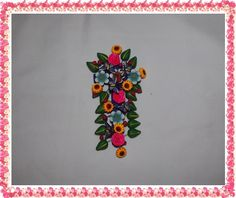 Flowered Cross in Terracotta by DaisyAndMomSupply on Etsy,